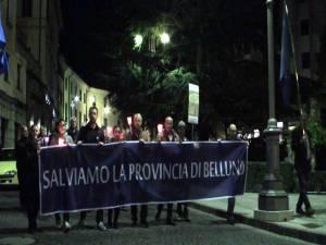 Belluno, in piazza per la Provincia il 24 ottobre 2012