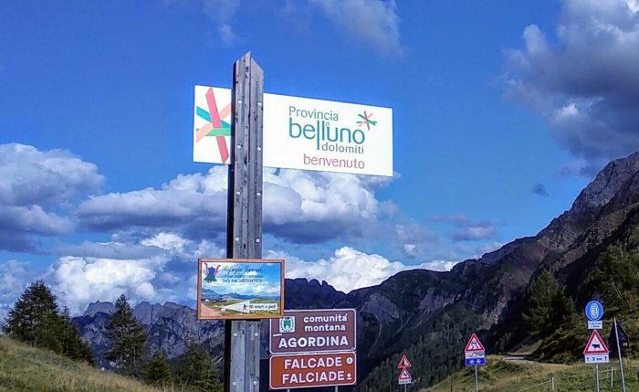 Passo Valles, provincia di Belluno